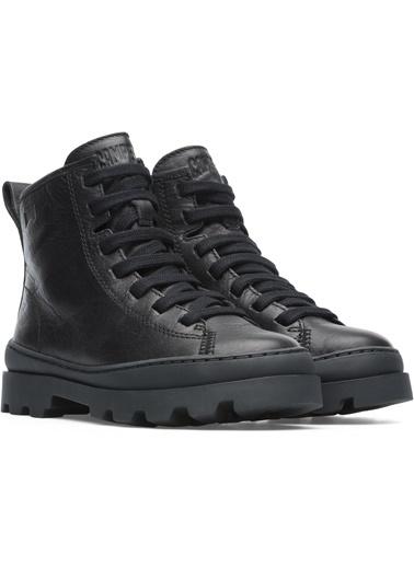 Camper Unisex Çocuk Sella Negro/Brutus Ayakkabı K900179-002 Siyah